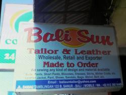 Bali Sun Tailor