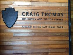 Craig Thomas Discovery & Visitor Center in Moose