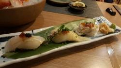 Mouthful Sushi & Sashimi on Sukumvit rd at Em Quatier