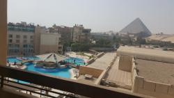 Pyramids view