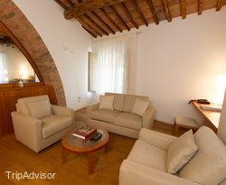 The Loggia Suite at the Hotel Borgo San Felice