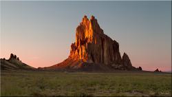Shiprock Rock Formation