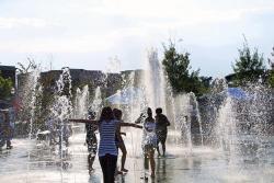 Big Splash Interactive Fountain