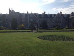 Nethybridge Hotel from garden