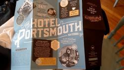 Really helpful little map of things to do in Portsmouth. Don't miss the Book&Bar!