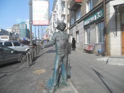 """Скульптура """"Воспоминание о моряке загранплавания"""""""