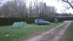 Excellent camping near the forest