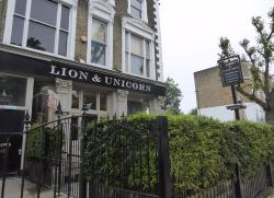 Lion and Unicorn pub