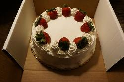 Short strawberry cake 👍