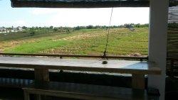 Toller Ort mitten in den Reisfeldern!