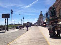 ‪Atlantic City Boardwalk‬
