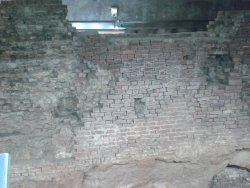 This is part of the 300-year old wall. Give them a ring and see a lot more.