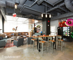 Lobby at the MOXY New Orleans Downtown/French Quarter Area