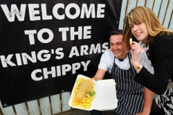 Our new addition to The Kings, Our Chippy