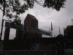 Duisburger Stadtmauer am Calaisplatz: