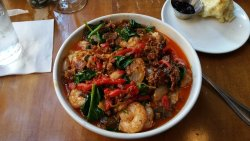 Shoo Mercy Shrimp and Grits at Tupelo Honey Cafe Knoxville