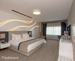 The Superior Room at the Ramada Hotel & Suites Kemalpasa Izmir