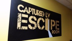 Captured LV Escape Room