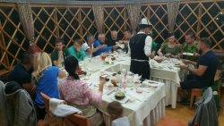 Ужин в горном ресторане Супара