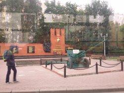 Monument to Panfilov's Guardsmen
