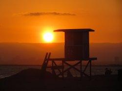 Sunset at Sunset Beach (1/2 block away)