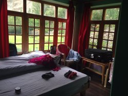 My room on the first floor of Maha Guest House