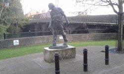 Augustus John statue