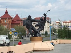 Monument to Hockey-players