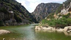 Lago Cedrino a Dorgali