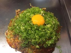 The Original, if you don't like raw egg it cooks while you eat it off the hot BBQ plate