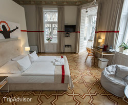 The Superior Double Room at the Home Hotel
