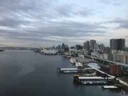 Hotel with a great view of Tokyo Bay