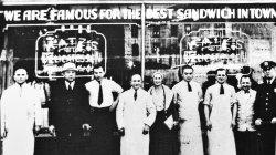 The Katz's family & staff circa 1932