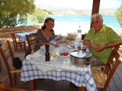 Lunch at Kavos