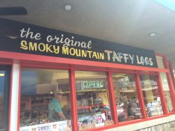 The Original Smoky Mountain Taffy Logs