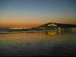 The famous hill from the beach
