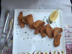 Ottimo branzino in crosta di patate e filetti pesce persico 😋
