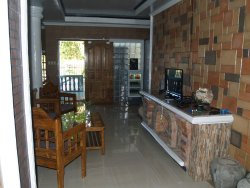 Reception and TV area