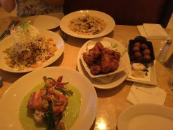 Dinner during Ramadan month