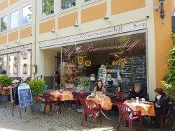 Hotel - Cafe am Roemerweinschiff