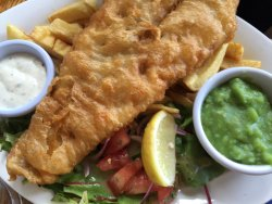 Good fish and chips