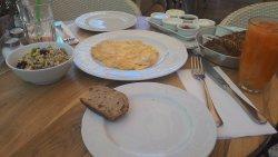 מה שהוגש לארוחת הבוקר
