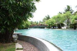 sprawling pools
