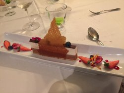 dessert 3 chocolats