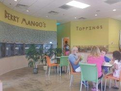 Yogurt Bar Berry Mangos