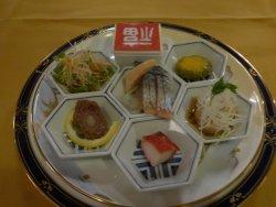中華のコース料理です