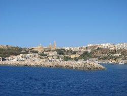 Arrivée à Gozo