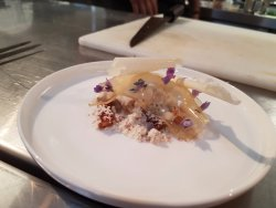 One of the most complex dishes I have ever seen created - James Viles