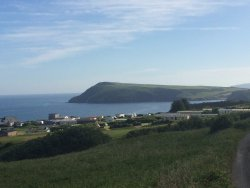 View of Fishguard Bay Resort position