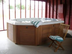 Indulge in the Hydrotherapy Spa Pavilion